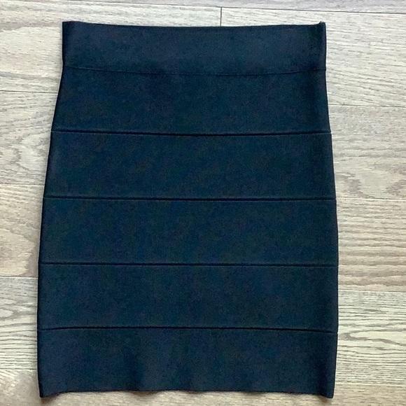 BCBGMaxAzria Dresses & Skirts - BCBG black bandage skirt